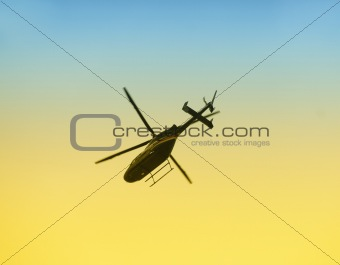 Airborne helicopter