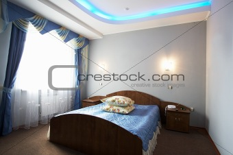 Beautiful and wide bed