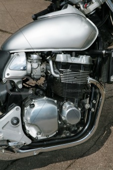 modern sports motorcycle