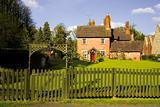 Eastnor Village Herefordshire the Midlands England