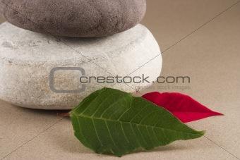 3 round pebbles