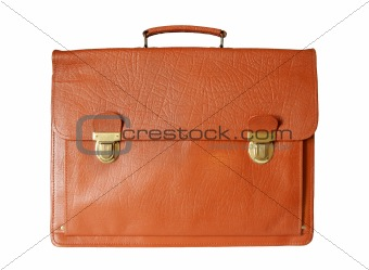 old style business  briefcase