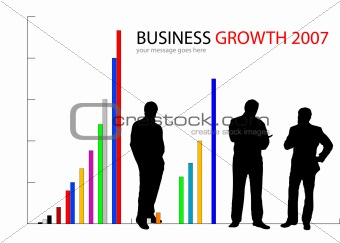 Businessman and Growth