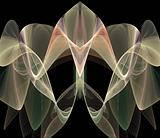 Abstract Lily Fractal
