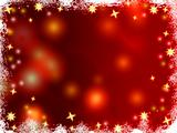 christmas 3d golden stars