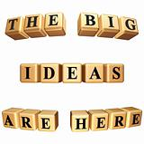 the big ideas are here isolated
