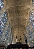 University of Cambridge, king&#39;s college chapel looking east