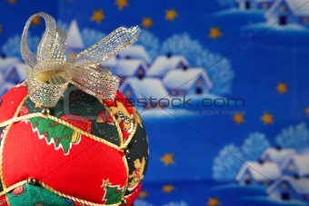 Christmas ball closeup
