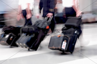 Airline Pilots in Motion