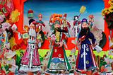 Chinese traditional  paper doll