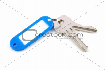 Blank tag and keys
