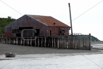 old canneries and docks