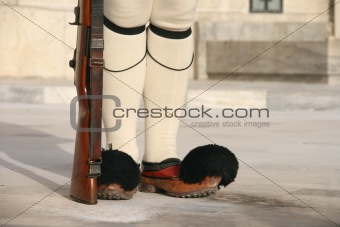 greek traditional guard