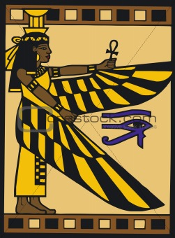 Egyptian Silouette-Vector