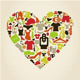 Heart clothes