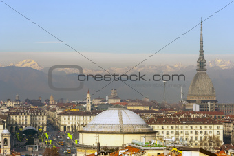 landscape of Turin
