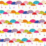 Colorful Umbrella Seamless Pattern