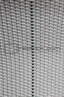 White and Green Braided Background