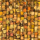 abstract fragmented backdrop pattern in orange