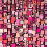 abstract fragmented backdrop pattern in pink