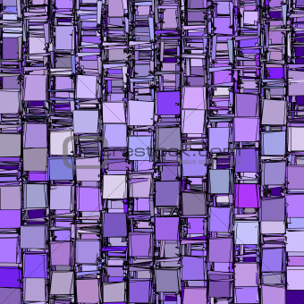 abstract fragmented backdrop pattern in purple