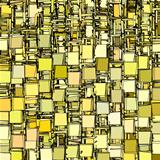 abstract fragmented backdrop pattern in yellow