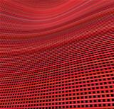 multiple red pink 3d wavy grid cloth like pattern backdrop