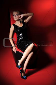 beautiful blond woman_