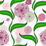 Spring floral pattern