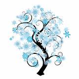 Snowflake tree
