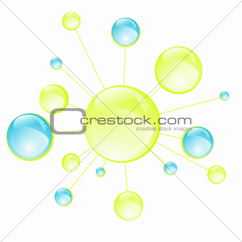 Abstract Microbiology Cell