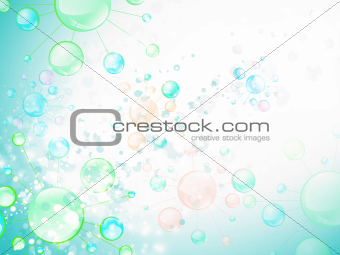 Abstract Microbiology Cell Background