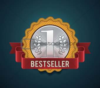 Vector bestseller badge