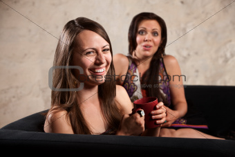 Pretty Women Laughing Together