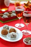 Prune and Nut Truffles