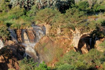 Upupa falls, Namibia