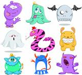 Halloween Monsters Pack 2