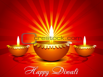 abstract diwali background in indian style