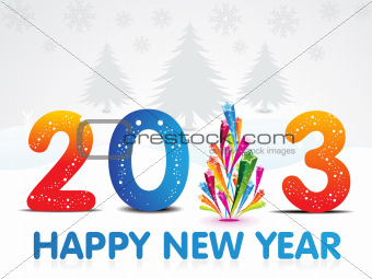 abstract new year wallpaper