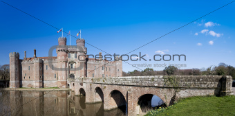 Herstmonceux Castle East Sussex Engalnd