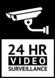 label CCTV symbol