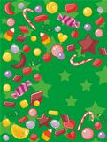 Candy Christmas Card