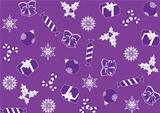 seamless purple background for Christmas