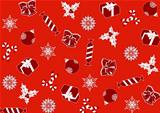 seamless red background for Christmas