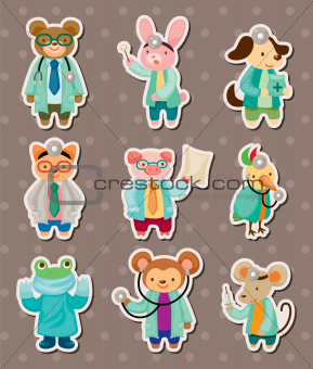 animal doctor stickers