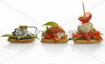 Appetizers With Crackers