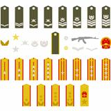 Epaulets Chinese army