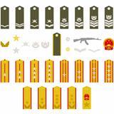 Epaulets Chinese army