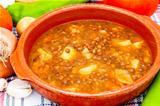 Soup of lentils