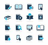 Book Icons Azure Series